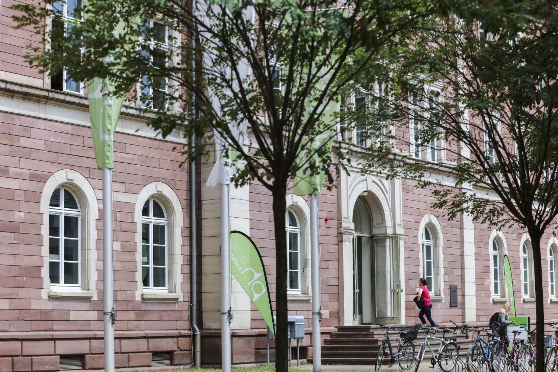 Die Pädagogische Hochschule Karlsruhe ( Foto Fabry/Pädagogische Hochschule Karlsruhe)